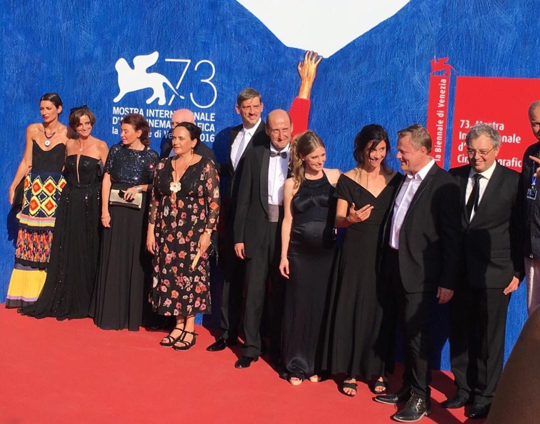 Нина Николина дебютира в киното на 73-тия филмов фестивал във Венеция и прославя България