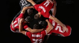WINBET / ЦСКА, рекламна фотосесия и календар