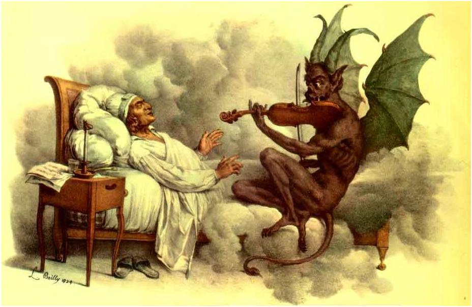 """""""Дяволските трели"""" на Тартини са дошли на сън"""