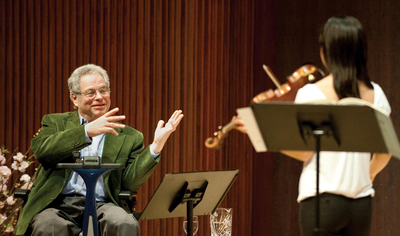 5 съвета от великия Ицхак Пърлман, които можем да отнесем не само към свиренето на цигулка