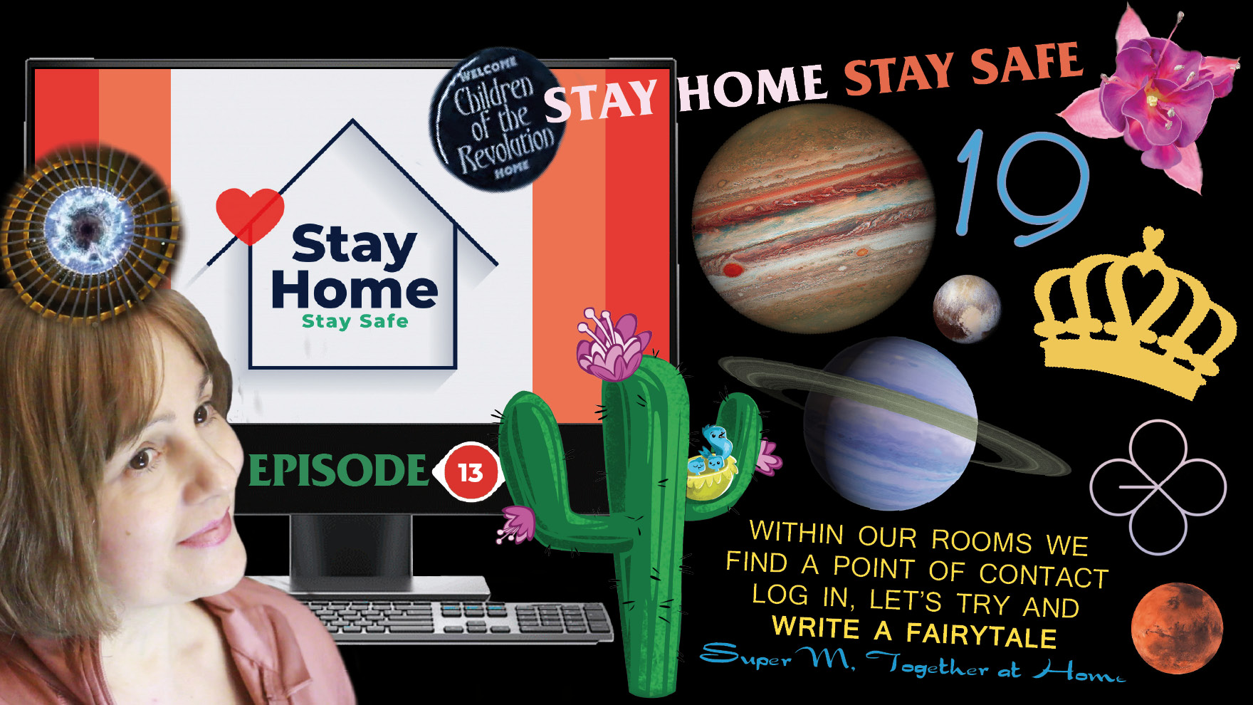 Quarantine time as a blessing in disguise: TOGETHER AT HOME & SAVE our spaceship Earth